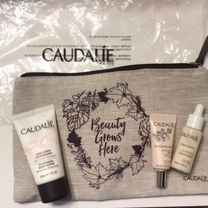 Caudalie Skin Care Sample Trio w/ pouch